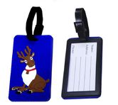 Luggage tag - Santa Clause's Reindeer