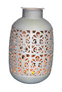 Decorative metal lantern