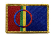 Saame Flag Iron-on patch,