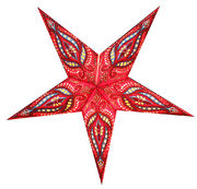Red/Black-based Unicorn star, 60 cm