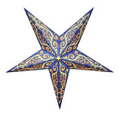 Blue-based Hella star, 60 cm