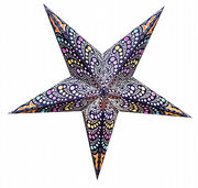 Purple-based Honolulu star, 60 cm