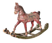 Indian decorative hand carved rocking horse 103x77 cm